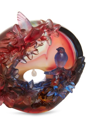 Detail View - Click To Enlarge - TITTOT - Flower and Bird Lampshade sculpture