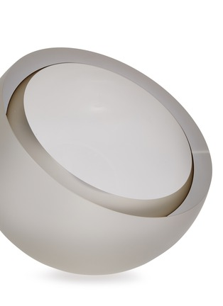 Detail View - Click To Enlarge - ANNA TORFS - Mo big sanded vase – Smoke