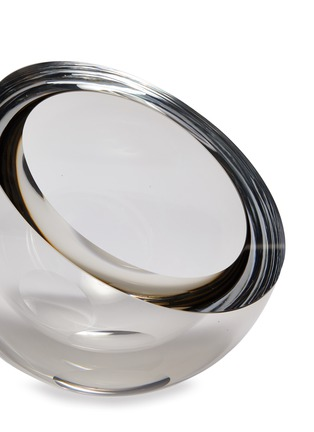 Detail View - Click To Enlarge - ANNA TORFS - Mo middle clear vase – Smoke