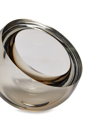 Detail View - Click To Enlarge - ANNA TORFS - Mo small clear vase – Smoke