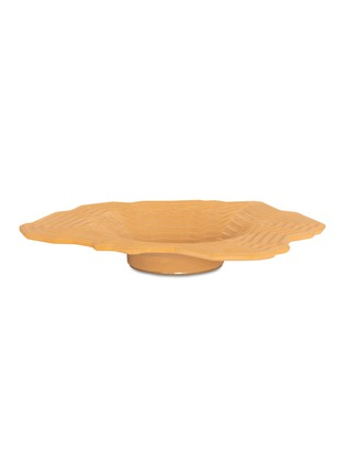 Main View - Click To Enlarge - LOCAL DESIGN - Pleat small bowl –Orange