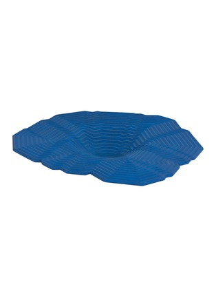 Detail View - Click To Enlarge - LOCAL DESIGN - Pleat large bowl –Blue