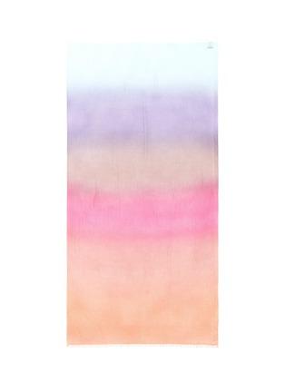 Detail View - Click To Enlarge - FALIERO SARTI - 'Hella' dégrade cashmere-silk scarf