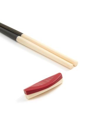 Detail View - Click To Enlarge - MARUNAO - Nippon Usagi chopsticks set – White