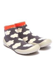 Collégien Cloud intarsia toddler sock knit sneakers