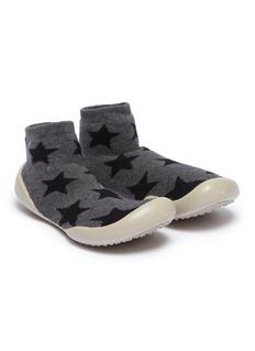 Collégien Star intarsia toddler sock knit sneakers