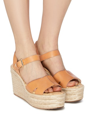 97a6ede0cf3 Figure View - Click To Enlarge - Sam Edelman -  Maura  leather espadrille  wedge