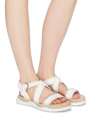 fc3331217e9736 Figure View - Click To Enlarge - Sam Edelman -  Janette  stud strappy  leather