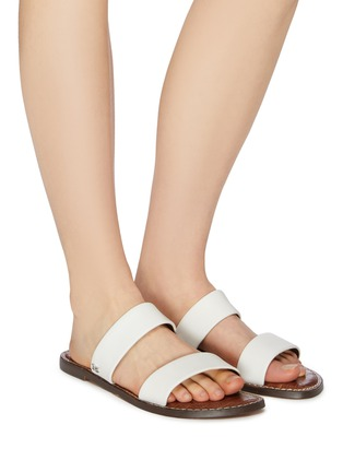 65fa9a3d4 Figure View - Click To Enlarge - Sam Edelman -  Gala  leather slide sandals