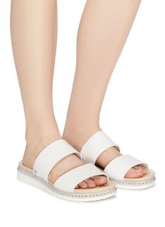 Sam Edelman 'Asha' stud welt leather slide sandals