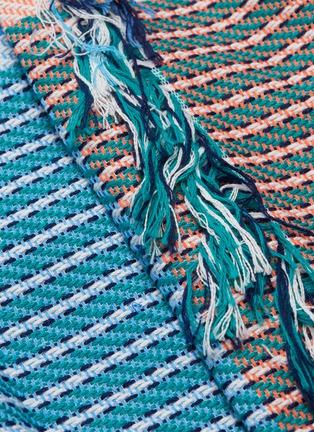 - FFIXXED STUDIOS - Fringe colourblock stripe woven skirt