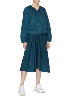 FFIXXED STUDIOS Asymmetric panelled midi skirt