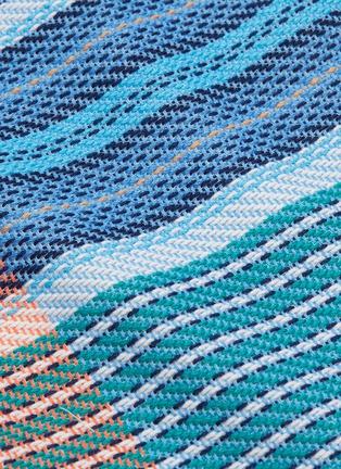 - FFIXXED STUDIOS - Fringe edge stripe colourblock top