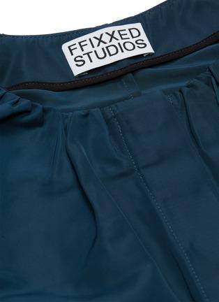 - FFIXXED STUDIOS - Ruched collar jacket
