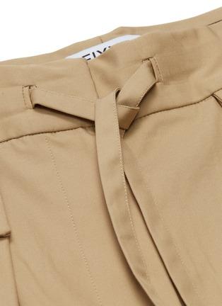 - FFIXXED STUDIOS - Twill wide leg drawstring pants