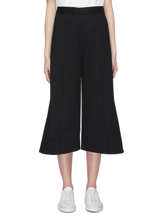 Main View - Click To Enlarge - FFIXXED STUDIOS - Pintuck twill culottes