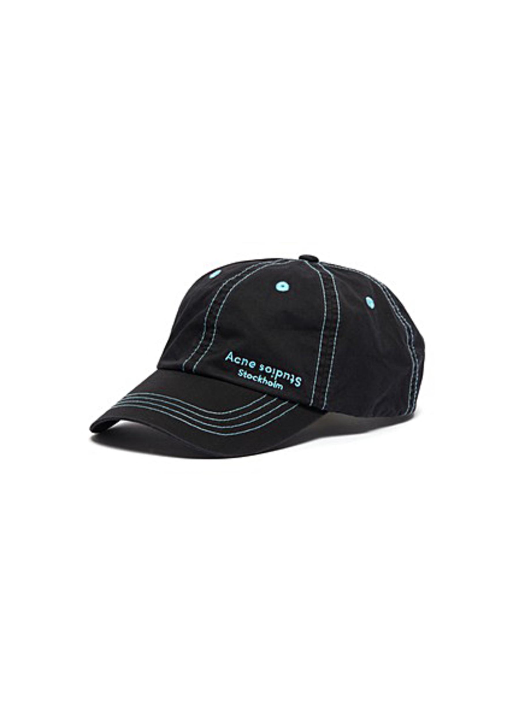 c977904531c3f1 ACNE STUDIOS   'Carliy' logo embroidered baseball cap   Men   Lane ...