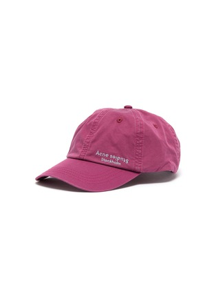Main View - Click To Enlarge - ACNE STUDIOS - Logo embroidered baseball cap