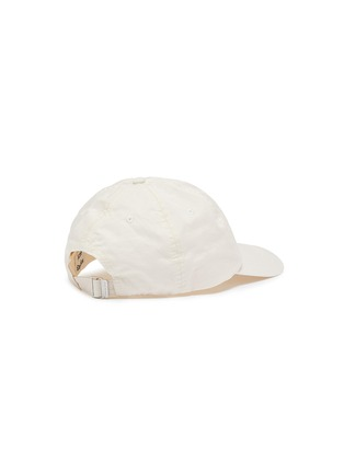 Figure View - Click To Enlarge - ACNE STUDIOS - Logo embroidered baseball cap