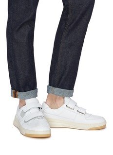 Acne Studios 'Perey' face patch leather sneakers