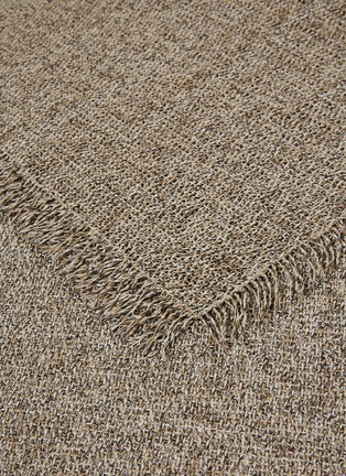 Detail View - Click To Enlarge - CHILEWICH - Market Fringe small floormat –Sisal