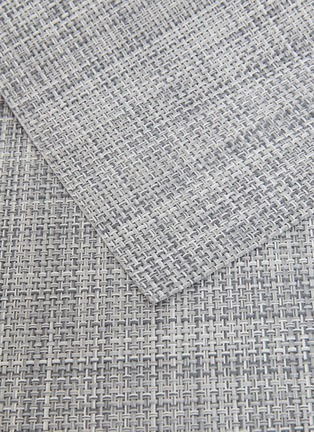 Detail View - Click To Enlarge - CHILEWICH - Mini Basketweave placemat –Mist