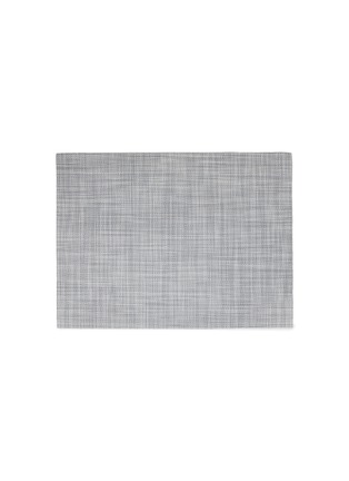 Main View - Click To Enlarge - CHILEWICH - Mini Basketweave placemat –Mist
