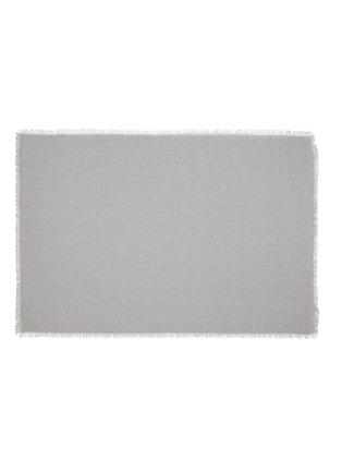 Main View - Click To Enlarge - CHILEWICH - Market Fringe large floormat –Quartz