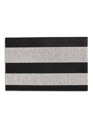 Main View - Click To Enlarge - CHILEWICH - Shag Bold Stripe doormat