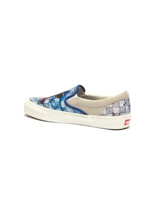 - VANS - x Ralph Steadman 'Classic Slip-On' paint splatter checkerboard canvas skates