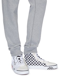 Vans 'Sk8-Hi Reissue Cap' checkerboard patchwork canvas sneakers