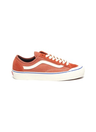 Main View - Click To Enlarge - VANS - 'Salt Wash Style 36 Decon SF' suede panel canvas sneakers