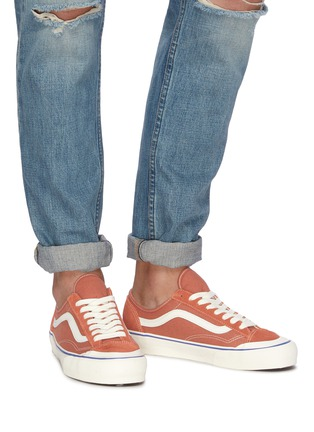 Figure View - Click To Enlarge - VANS - 'Salt Wash Style 36 Decon SF' suede panel canvas sneakers