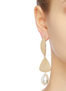 Rosantica 'Ombre' faux pearl abstract drop earrings