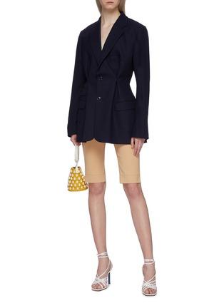 Figure View - Click To Enlarge - JACQUEMUS - 'La veste Raffaella' darted wool blazer
