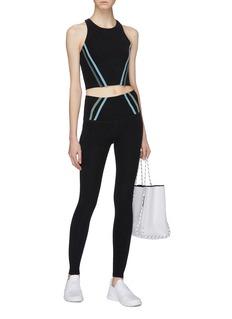 Beyond Yoga 'Stripe Down' performance leggings