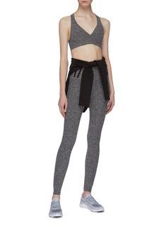 Beyond Yoga 'Stripe Down' performance midi leggings