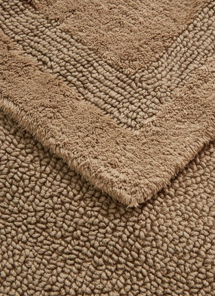 Detail View - Click To Enlarge - ABYSS - Super Pile small reversible bath mat –Taupe