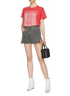 rag & bone/JEAN 'Maya' zip outseam denim shorts