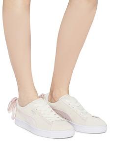 Puma 'Suede Bow Hexamesh' sneakers