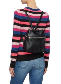 KARA Small leather backpack