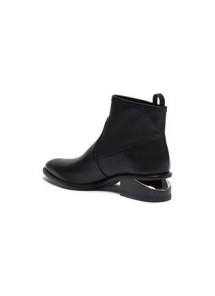 - ALEXANDER WANG - 'Kori' cutout heel leather boots
