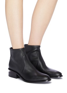 alexanderwang 'Kori' cutout heel leather boots