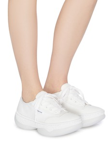 alexanderwang 'a1' chunky outsole low top canvas sneakers