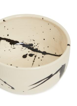 Detail View - Click To Enlarge - CHRIS EARL - Cereal bowl set –Black Splatter
