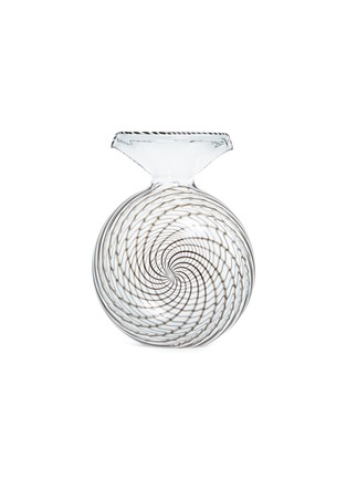 Main View - Click To Enlarge - Laurence Brabant & Alain Villechange - Rosette decanter – Clear/Black