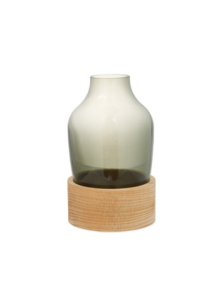 Main View - Click To Enlarge - Republic of Fritz Hansen - Wood base high vase