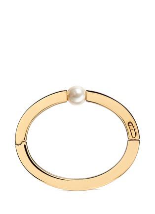 Main View - Click To Enlarge - Chloé - 'Darcey' Swarovski crystal pearl bangle