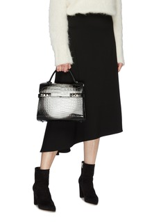 Delvaux 'Tempête MM Spotlight' alligator leather satchel