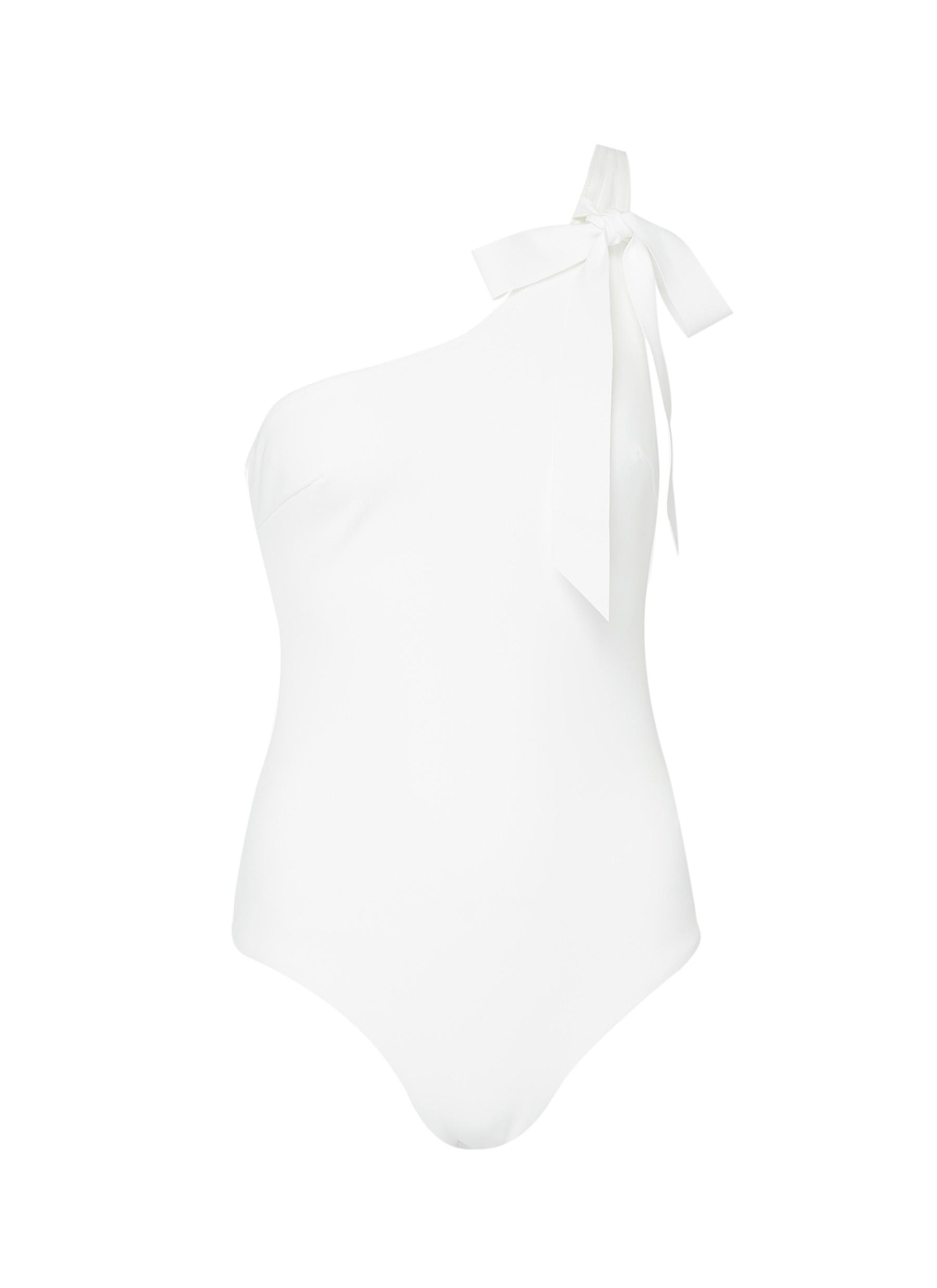 Goldie one-shoulder one-piece swimsuit by Zimmermann